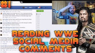 Reading WWE Social Media Comments #1 - Roman Reigns Is BEST WRESTLER & MOST HANDSOME IN WWE!