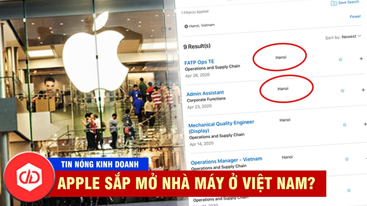Apple Liên Tục Đăng Tin Tuyển Dụng Tại Việt Nam, Gã Khổng Lồ Mỹ Đang Gấp Rút Rời Trung Quốc?