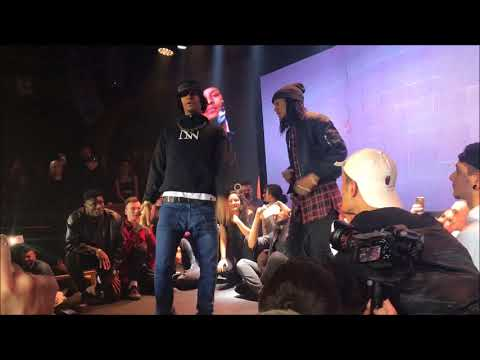 LES TWINS || Larry & Laurent Freestyle