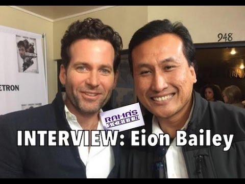 My 'EXTORTION' Red Carpet Interview with Eion Bailey