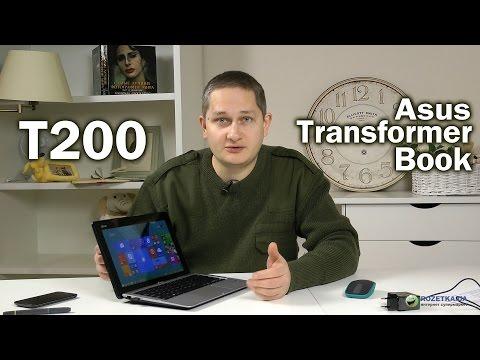 Asus Transformer Book T200: обзор гибридного ноутбука