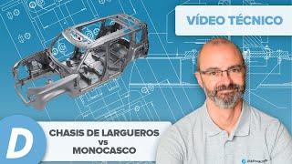 Técnica 4x4: Chasis de largueros vs chasis monocasco, ventajas e inconvenientes   Diariomotor