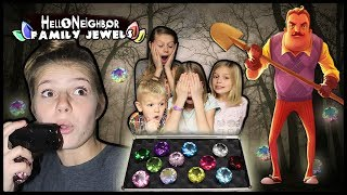 Hello Neighbor STOLE our JEWELS! | Hello Neighbor in REAL LIFE with HUGE DIAMONDS!!