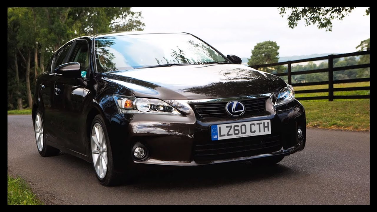 Lexus Ct200h Compact Hybrid Car Fully Charged