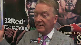 FRANK WARREN REACTS TO DANA WHITE & UFC IN BOXING