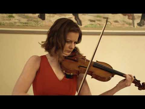 Veronika Eberle & Edicson Ruiz Plays Oscher's Passacaglia