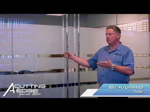 Heavy Glass Windows, Walls & Doors - A Cutting Edge Glass & Mirror
