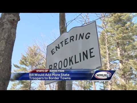 Bill would add more state troopers to border towns