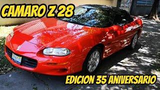 camaro Z28 edicion 35 aniversario 30,000 km
