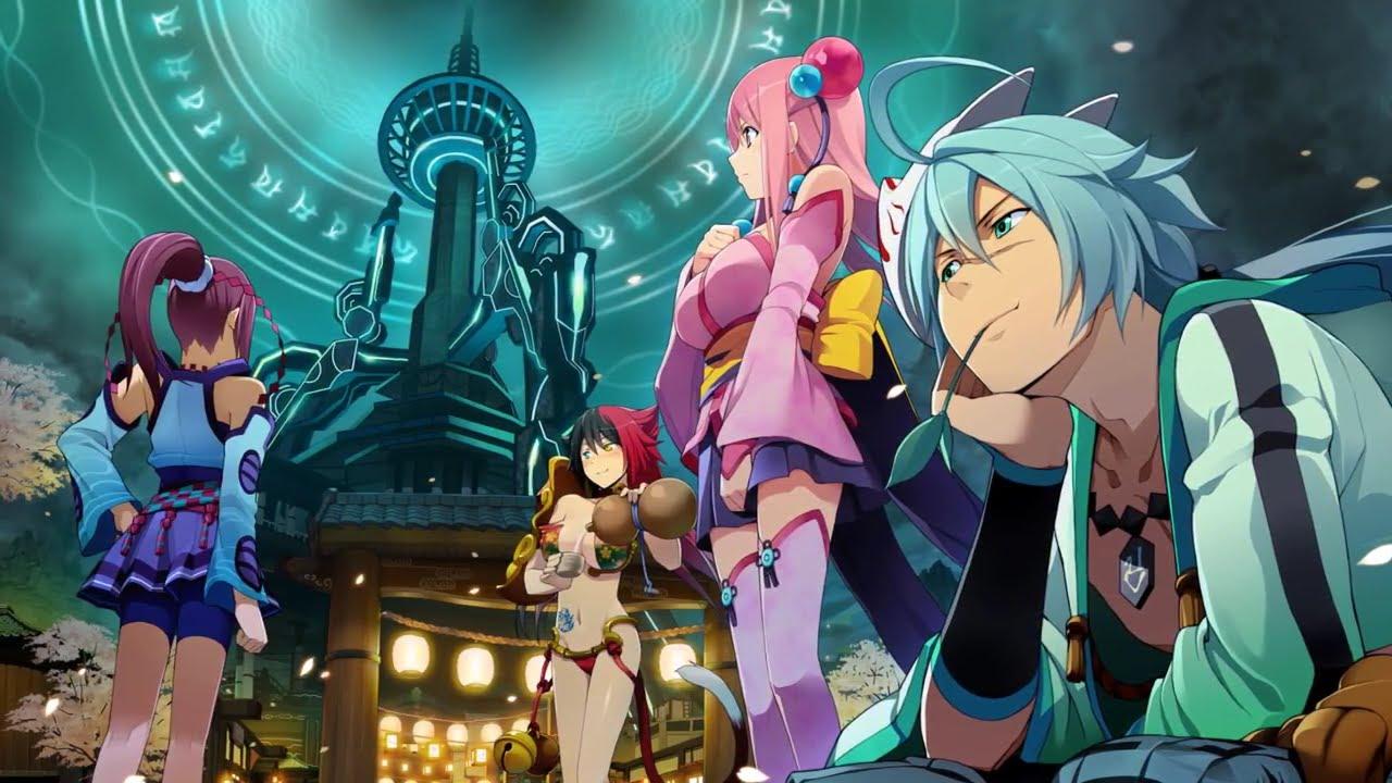 flirting games anime characters list movie trailer