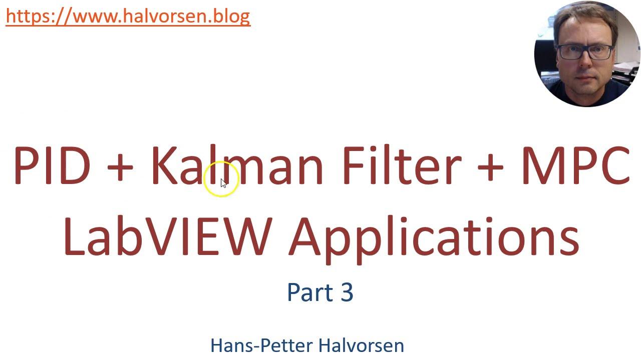 Labview Pid Kalman Filter Mpc Part3 Youtube