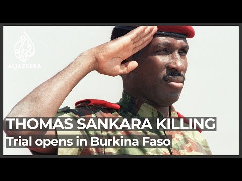 Burkina Faso opens trial on 1987 Sankara assassination