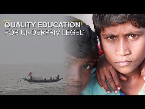 Sponsorship programme by an NGO is helping underpriveleged children in the Sunderbans