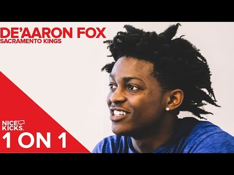 1 ON 1: De'Aaron Fox Sacramento Kings on Favorite Kobe Sneakers, Nike Contract, and More