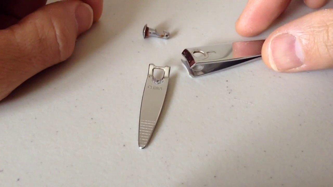 HOW TO FIX YOUR NAIL CLIPPERS - YouTube