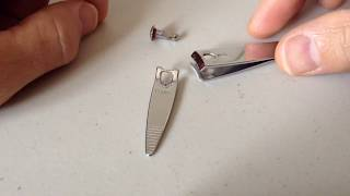 HOW TO FIX YOUR NAIL CLIPPERS