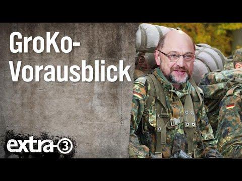 Vorausblick auf die GroKo-Verhandlungen | extra 3 | NDR