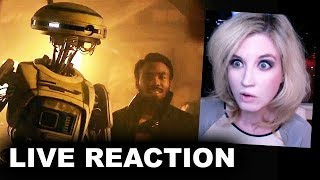 Solo A Star Wars Story Trailer REACTION