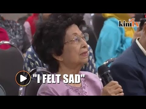 I was sad when Mahathir was announced as PM candidate, says Siti Hasmah