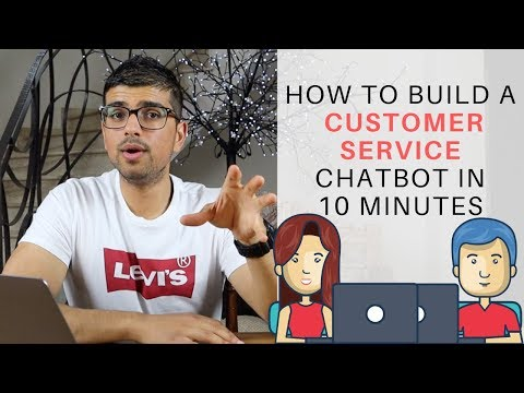 How To Build A Customer Service Chatbot In 10 Minutes (Manychat Tutorial 2019)