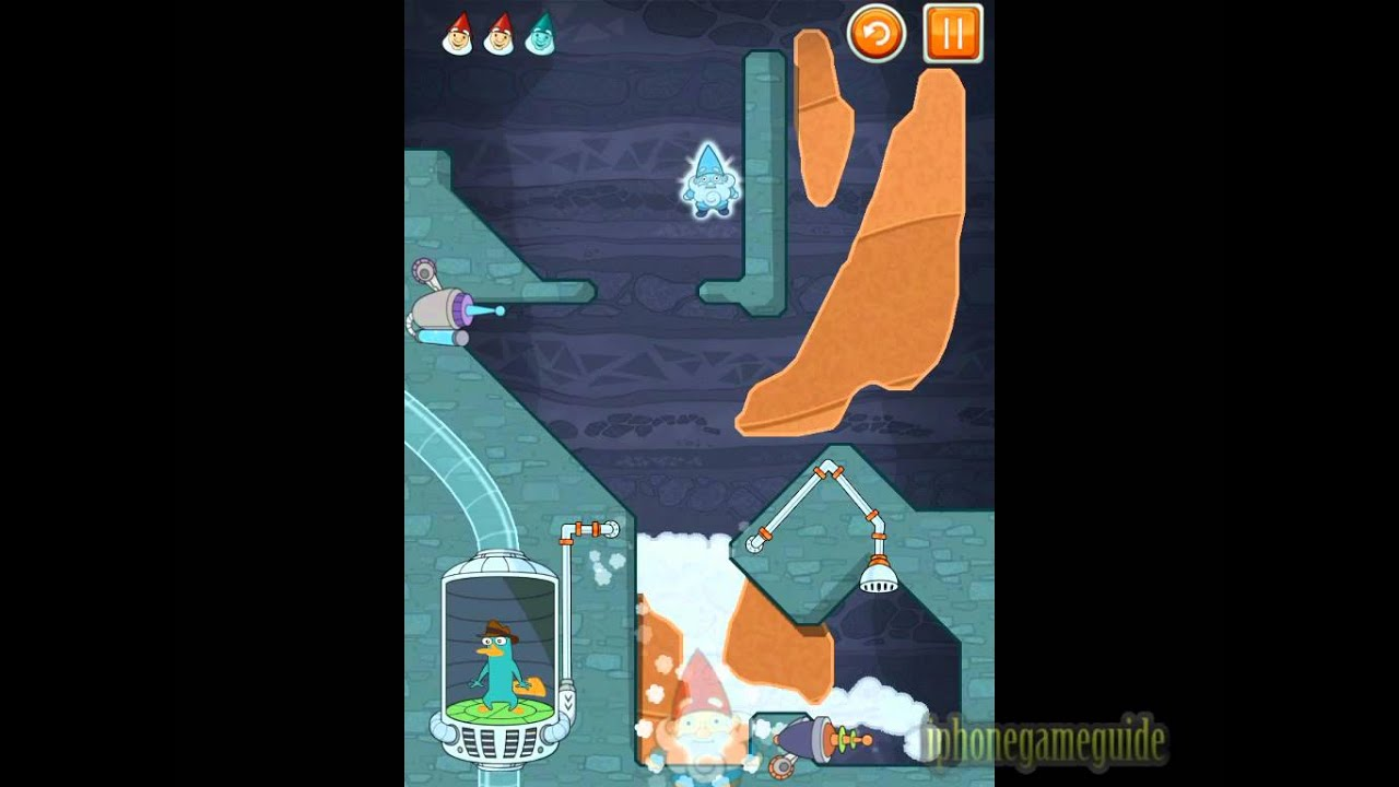 Where's My Perry? Level 4-20 Leap of Faith Walkthrough (Mission 4)