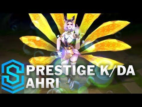 Prestige K/DA Ahri Skin Spotlight - Pre-Release - League of Legends