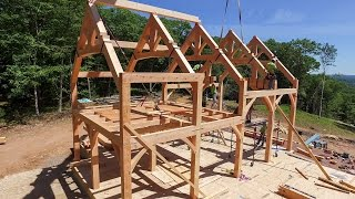 Raising the Timber Frame Home at Bald Hill(, 2016-06-17T16:44:51.000Z)