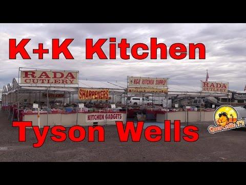 K +K Kitchen Supply...Tyson Wells Show-Grounds...Quartzsite AZ....Quartzsite TV