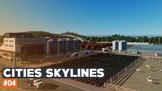 Cities Skylines | #04 | Black Lake | MŁYN - Produkcja mąki