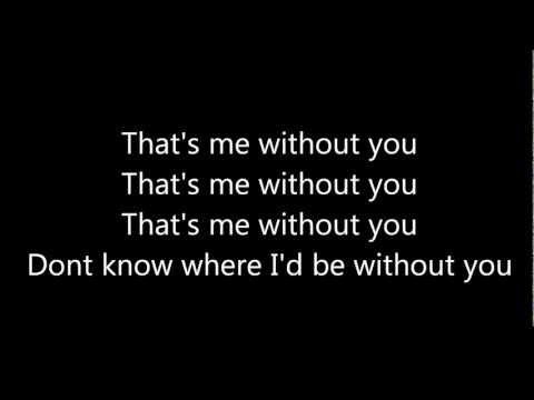 me without you tobymac lyrics