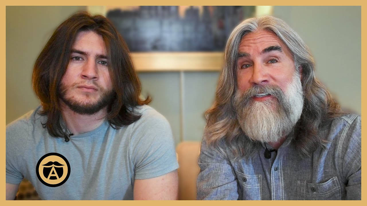 Father & Son's Hair Growth Journey (1 Year Update) | Greg & Victor Berzinsky