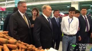 Kazakh President's Awkward Shopping Trip