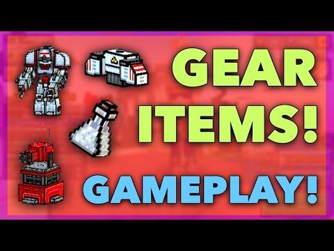 Pixel Gun 3D - Gear Item Gameplay!