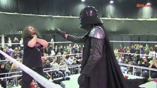 Darth Vader vs ZMAK team STAR WARS match ZMAK HEROES 2016