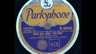 Beau Koo Jack: Louis Armstrong and His Orchestra