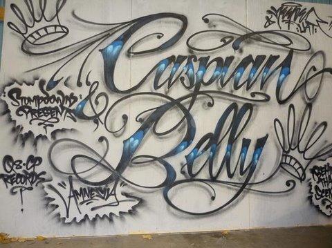 "GRAFFITI - #46 - Caspian & Belly ""Amnesia"" Behind the Scenes"