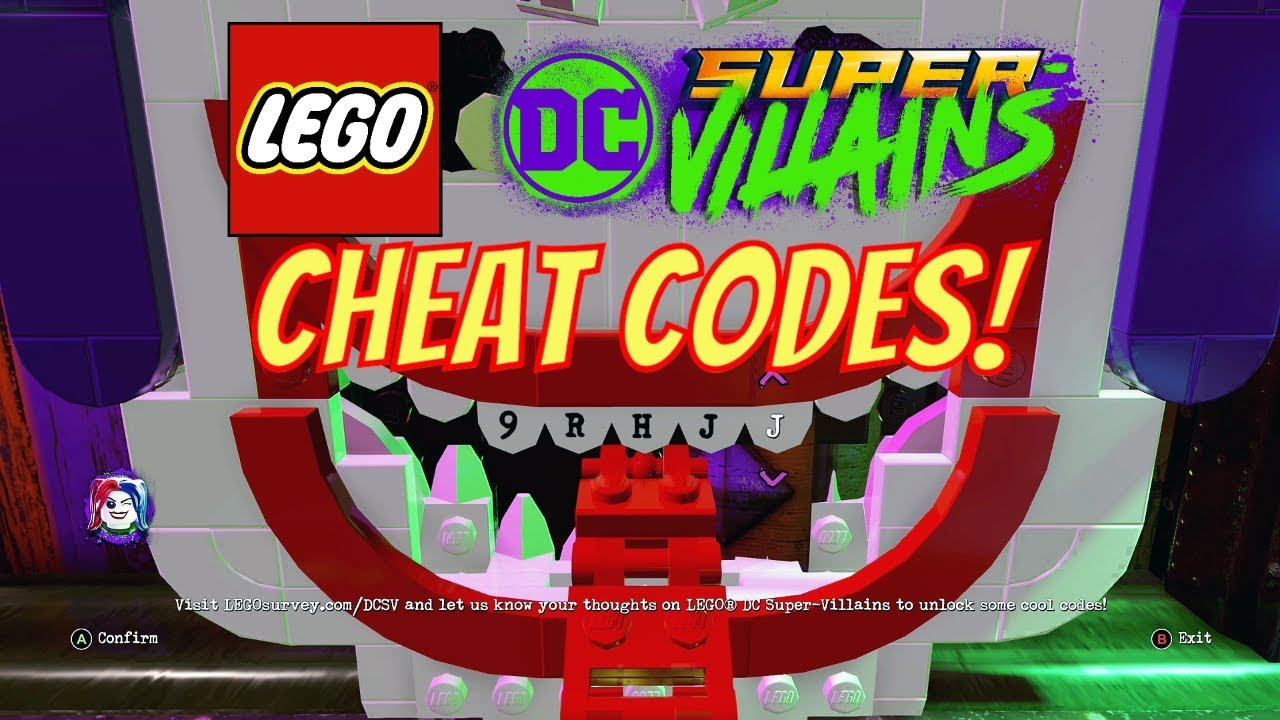 <b>LEGO DC Super Villains</b> How To Enter <b>Cheat Codes</b> (With All ...