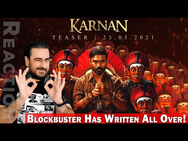 Pakistani Reacts to Karnan Official Teaser | Dhanush | IAmFawad