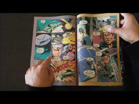 "VIPER TV SHOW FAN VLOG #07: ""Viper"" miniseries comics by DC"