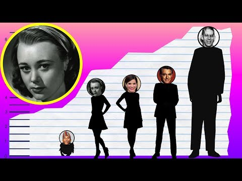 How Tall Is Glynis Johns?  Height Comparison!
