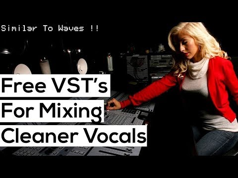 Top 5 FREE VST plugins For Mixing Vocals (Similar To Waves Plugins)
