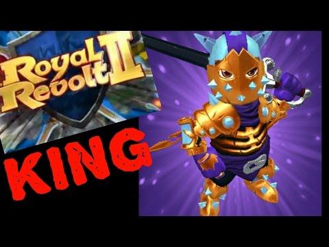 ROYAL REVOLT 2 - BEST ATTACK KING STRATEGIES