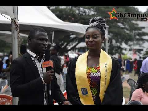 University of Ghana Matriculation 2017
