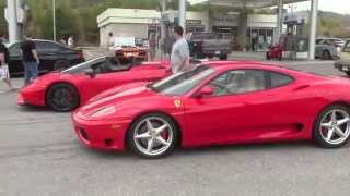 Mountain Drive with a Ferrari 360 Modena and Other Exotic Cars