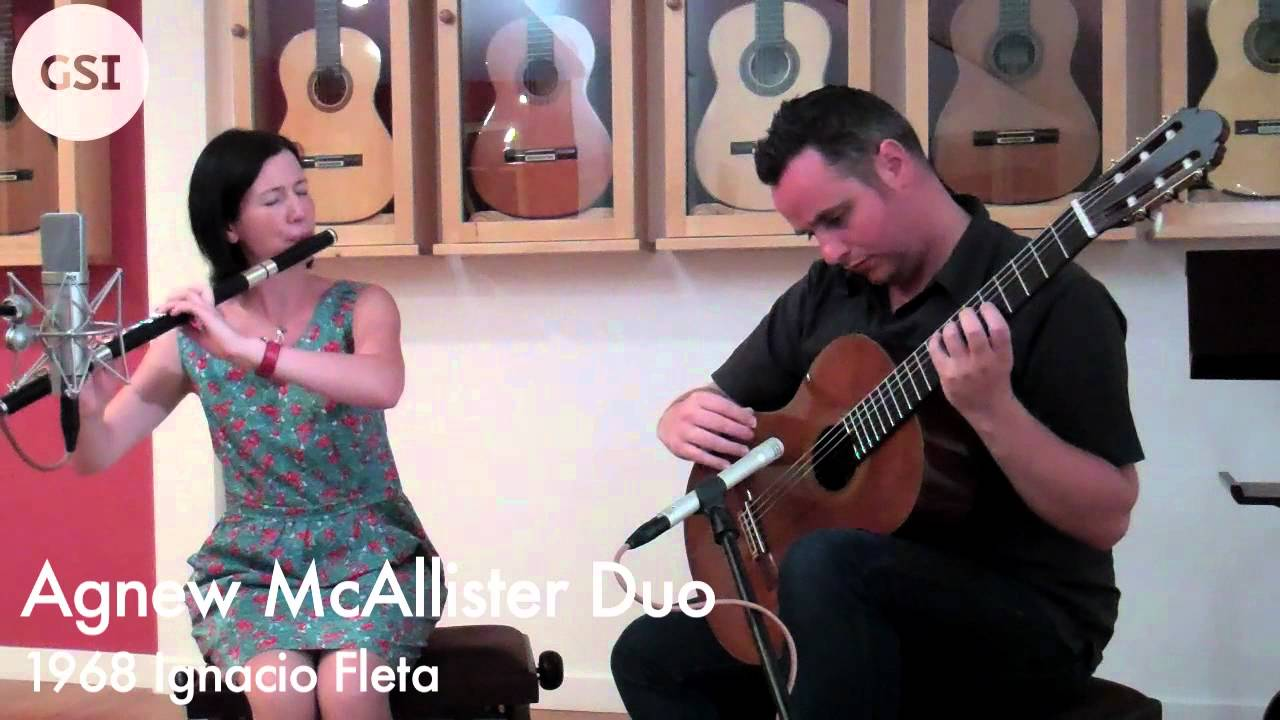 Agnew McAllister Duo -1968 Ignacio Fleta: Classical Guitar at Guitar Salon International