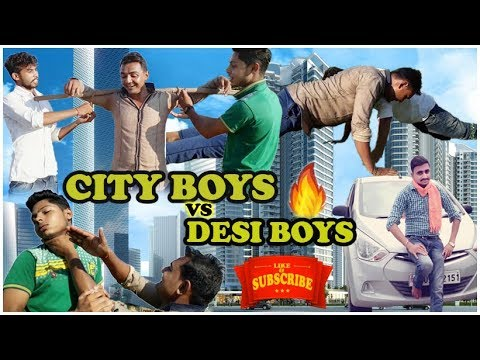 City Boys vs Desi Boys | CE | Chauhan Vines | NEW VIDEO