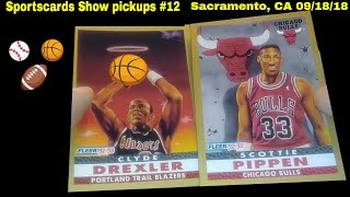 Sportscards Show pickups with James Wong and Vintage card collector