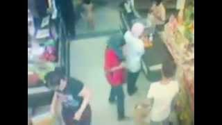 Pencuri BERTUDUNG di AEON Wangsa Maju