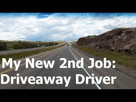 Driveaway Driver - My new 2nd job! - Road Trip
