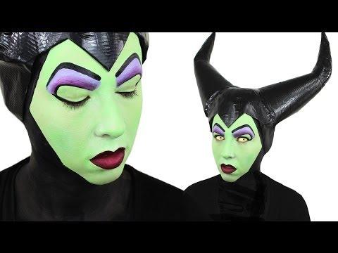 Maleficent Face Painting Ashlea Henson Youtube